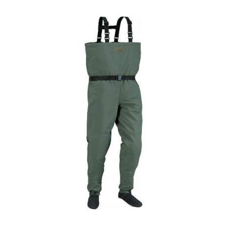 Cabela 39 s g ii stockingfoot chest waders with 4most dry for Cabelas fishing waders