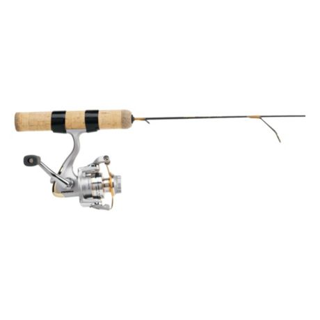 Frabill ice hunter ice fishing combo cabela 39 s canada for Cabela s fishing rods