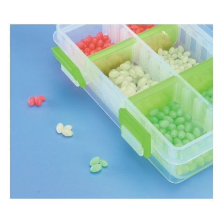 600-Piece Glow Egg Shaped Bead Kit