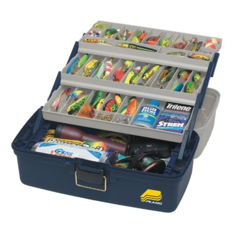 Plano 6133 Extra-Large Three Tray Tackle Box