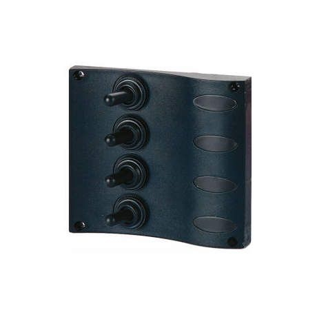 Seasense Marine 4 Way ''Splash Proof'' Switch Panel