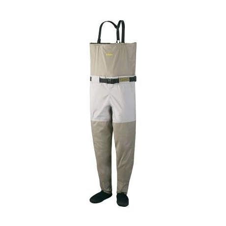 Cabela 39 s gold medal convertible stockingfoot chest waders for Cabelas fishing waders