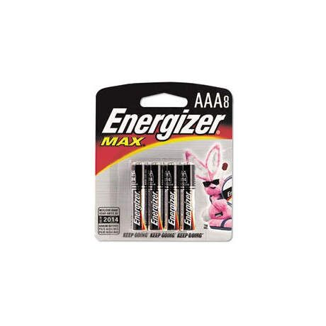 Energizer MAX Alkaline Batteries - AAA 8 Pack