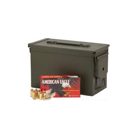 Federal American Eagle .45ACP Ammunition w/ Ammo Can