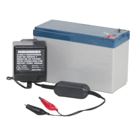 Humminbird 7 A/H Gel Battery and Charger