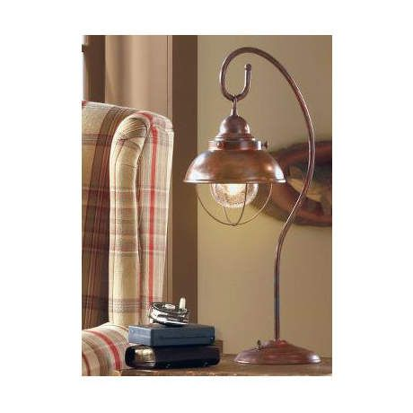 Weathered Copper - Grand River Lodge Fisherman's Table Lamp Cabela's Canada