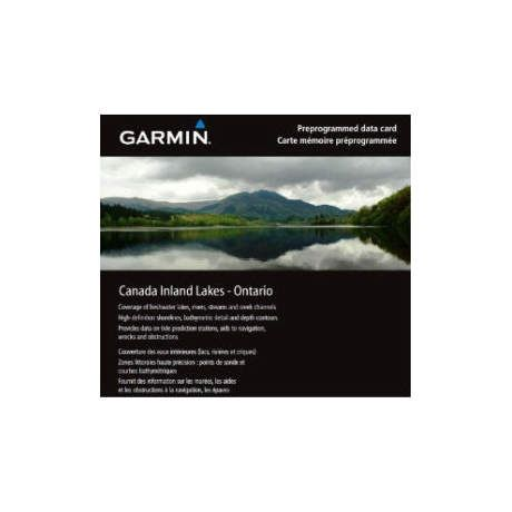 Garmin® Inland Lakes Canada Micro SD w/ SD Adapter