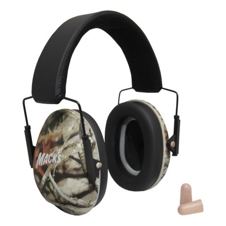 Mack's Shooters Double-Up Hearing Protection System