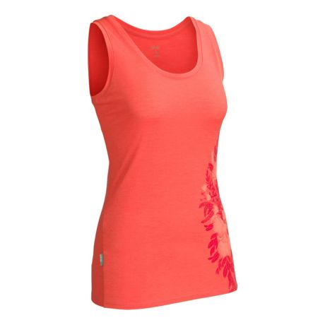 Icebreaker Women's Wild Bunch Tech Tank