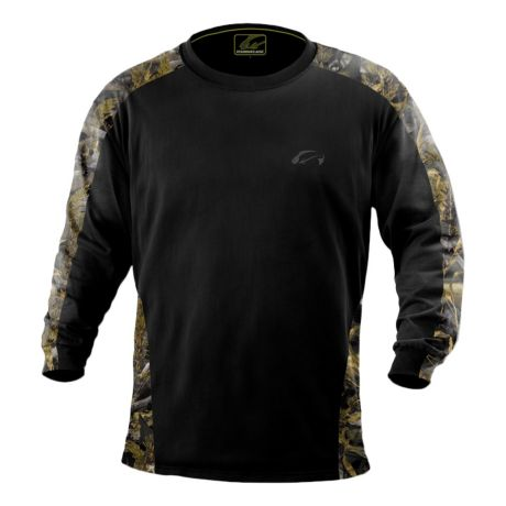 Fishouflage walleye performance long sleeve t shirt for Cabela s fishing shirts