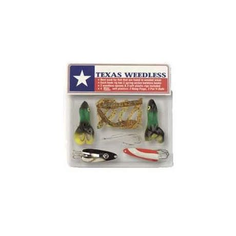 Lucky Strike Texas Weedless Lure Kit