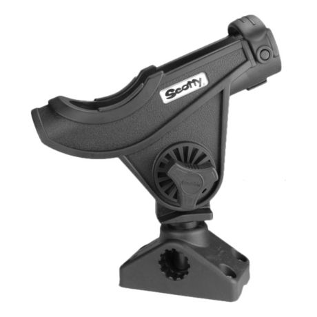 Scotty Bait Caster/Spinning Rod Holder with 241 Side/Deck Mount