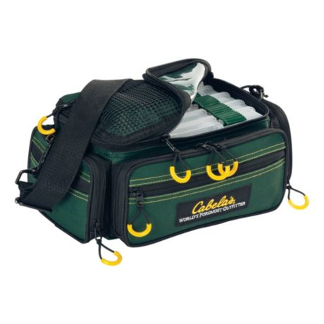 Cabela 39 s advanced anglers tackle bags w utility boxes for Cabelas fishing backpack