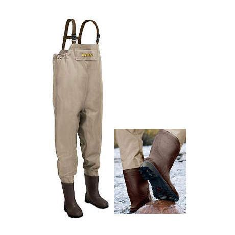 Cabela 39 s three forks 420 denier insulated lug sole chest for Cabelas fishing waders