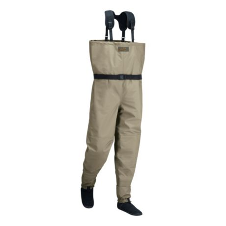Cabela 39 s premium breathable stockingfoot waders with 4most for Cabelas fishing waders