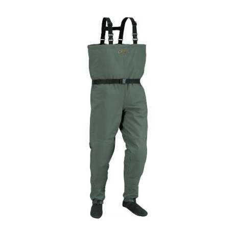 Cabela 39 s dry plus g ii stockingfoot chest waders stout for Cabelas fishing waders