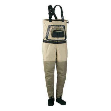 Cabela 39 s guide tech stockingfoot dry plus waders cabela for Cabelas fishing waders