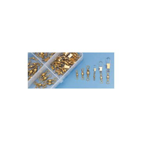 Cabela's 70-Piece Brass Swivel Assortment