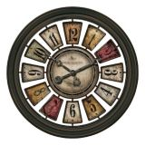 Picture of FirsTime Lodge Plaques Wall Clock