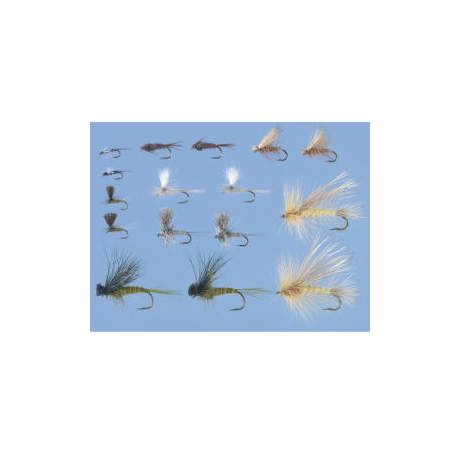 Cabela's 16-Piece Western Dry Fly Assortment