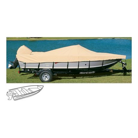 Cabela's Ratchet-Tite Boat Cover - V-Hull Fishing