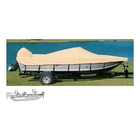 Cabela's Ratchet-Tite Boat Cover - Bass & Walleye