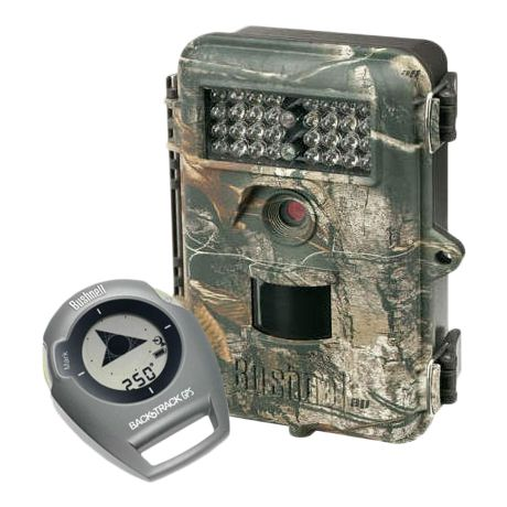 Bushnell Bone Collector Trophy Cam/ Bushnell Backtrack GPS Combo