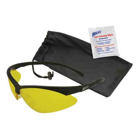 Macks Shooters High Clarity Safety Glasses