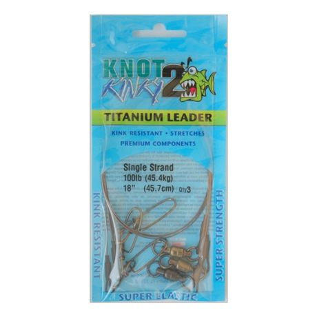 Knot 2 Kinky Single Strand Leaders