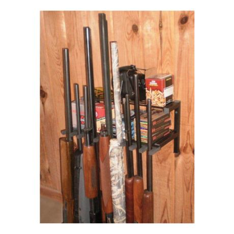 10 Gun Rack and Shelf Unit