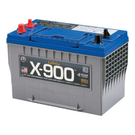 X 900 Pure Lead AGM Battery