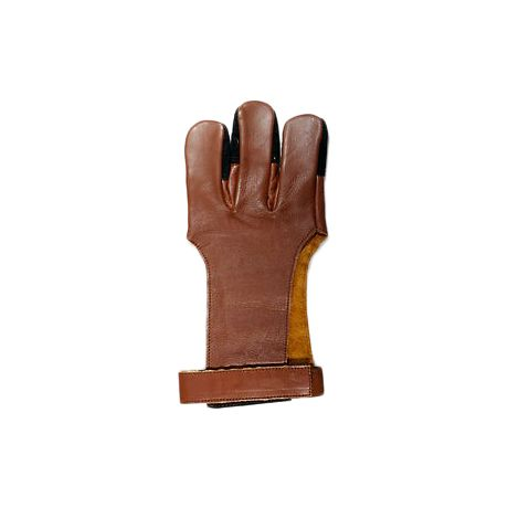 Vista Full Fingered Leather Archery Glove