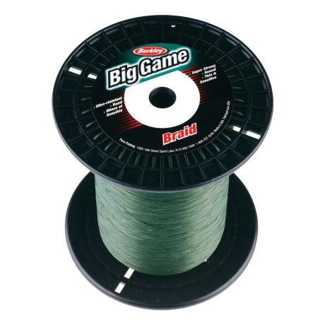 Berkley Big Game Braid Fishing Line