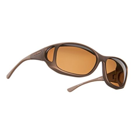 Cocoons Style Line MX Polarized Sunglasses - Sand Frame/Amber Lens
