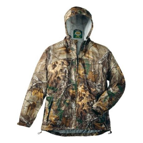 Cabela's Space Rain™ Full-Zip Jacket with 4MOST DRY-PLUS - Realtree Xtra