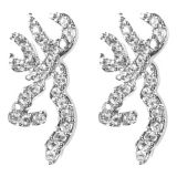 Picture of Browning® Buckmark Ice Bling Post Earrings