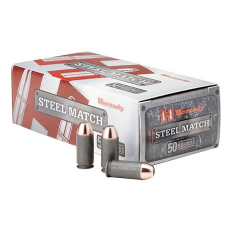 Hornady Steel Match Pistol Ammunition