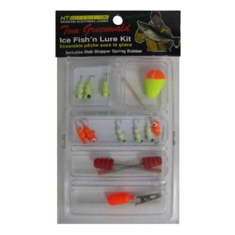 HT 13 Piece Glow Grub Lure Kit