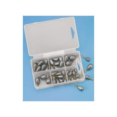 Cabela's 42-Piece Bass Casting Sinkers Assortment