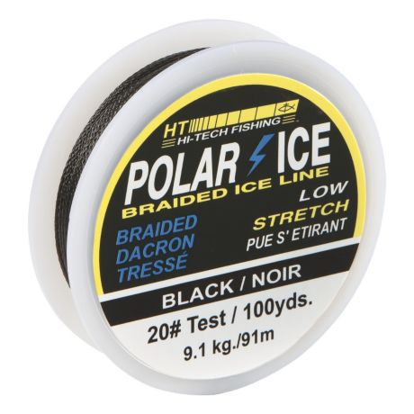Ht polar ice braided fishing line cabela 39 s canada for Ice fishing line