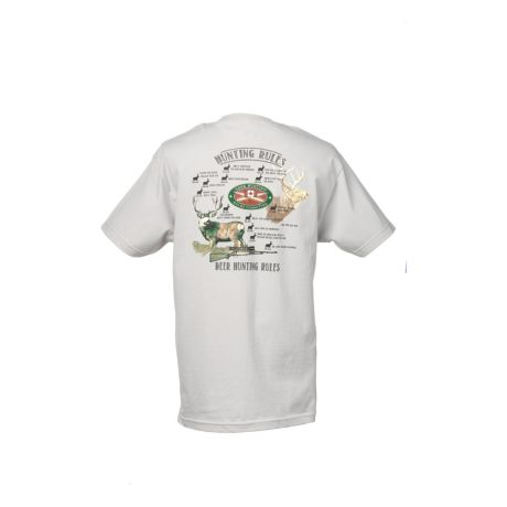 Cabela s deer hunting rules tee shirt cabela 39 s canada for Cabela s fishing shirts