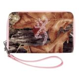 Picture of Browning® Women's Camo Bling Wristlet Wallet