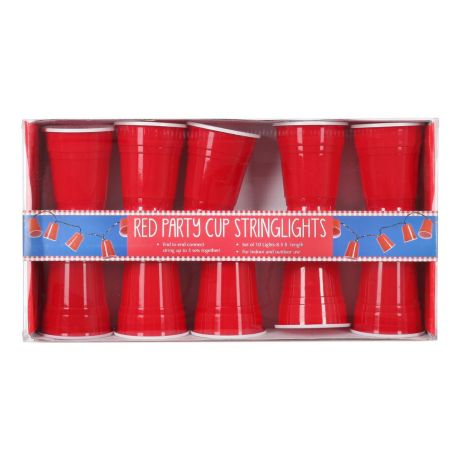 Dennis East Red Party Cup String Lights Cabela s Canada