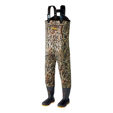 Cabela 39 s 5mm neostretch neoprene chest waders w lug sole for Cabelas fishing waders