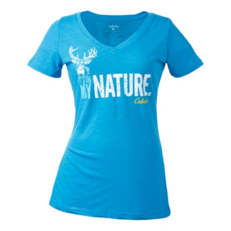 Cabela 39 s women 39 s in my nature tee shirt cabela 39 s canada for Cabela s fishing shirts