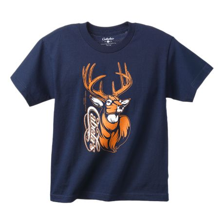 Cabela 39 s youth boys 39 pursuit deer tee shirt cabela 39 s canada for Cabela s fishing shirts