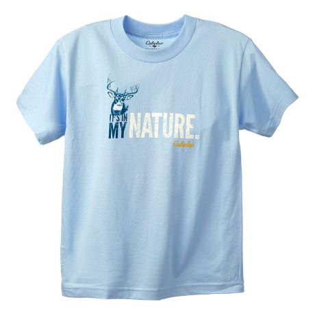Cabela 39 s youth girls 39 in my nature tee shirt cabela 39 s canada for Cabela s fishing shirts