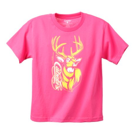 Cabela 39 s youth girls 39 pursuit deer tee shirt cabela 39 s canada for Cabela s fishing shirts