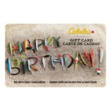 Picture of Cabela's Canada Gift Card - Fishing Lure Happy Birthday