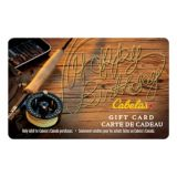 Picture of Cabela's Canada Gift Card - Fly Fishing Happy Birthday